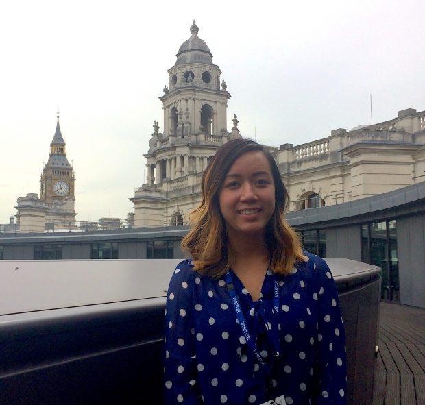 Roselyn beginning her last week of work with the Digital Engagement Team